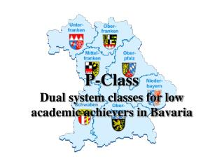 P-Class Dual system classes for low academic achievers in Bavaria