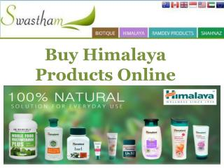 Buy Himalaya Products Online