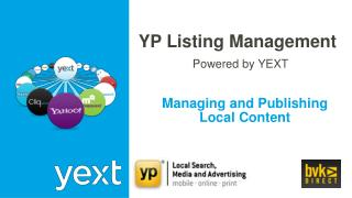 Managing and Publishing Local Content