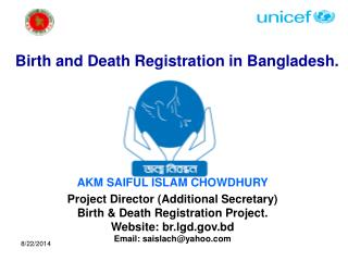 Birth and Death Registration in Bangladesh.