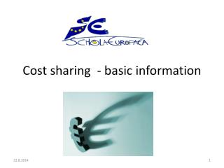 Cost sharing  - basic information