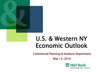 U.S. & Western NY Economic Outlook