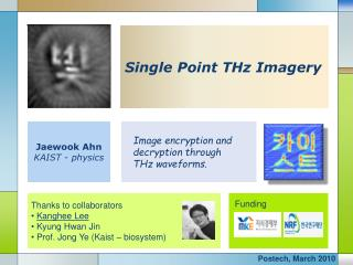 Single Point THz Imagery