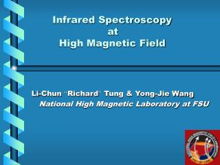 Infrared Spectroscopy                          at           High Magnetic Field