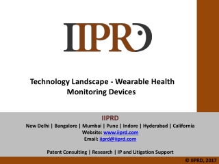 Wireless and Healthcare
