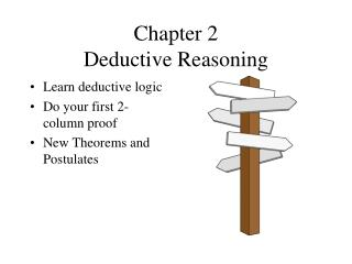 Chapter 2 Deductive Reasoning