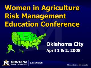 Women in Agriculture Risk Management Education Conference