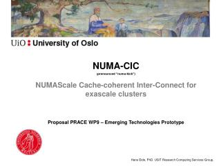 NUMAScale Cache-coherent Inter-Connect for exascale clusters