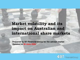 Market volatility and its impact on Australian and international share markets