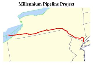 Millennium Pipeline Project