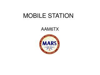 MOBILE STATION