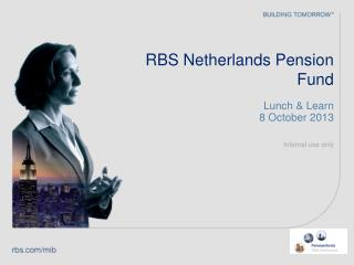 RBS Netherlands Pension Fund