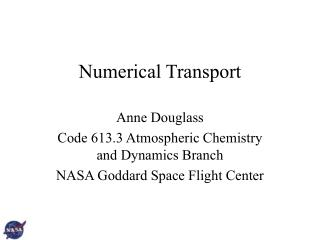 Numerical Transport