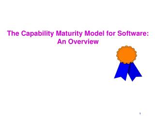 The Capability Maturity Model for Software: An Overview