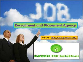 Consultancy for Job Seekers- Green HR Solution