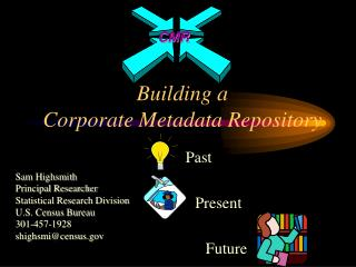 Building a  Corporate Metadata Repository