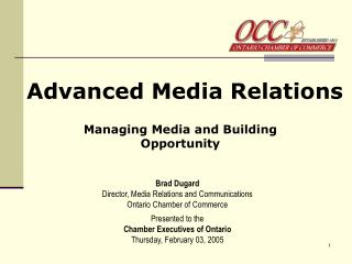 Advanced Media Relations