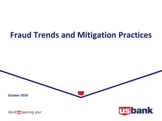Fraud Trends and Mitigation Practices