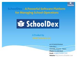 SchoolDex - School Management Software Arizona
