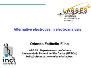 Alternative electrodes in electroanalysis