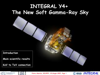 INTEGRAL Y4+  The New Soft Gamma-Ray Sky