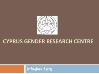 Cyprus Gender Research Centre