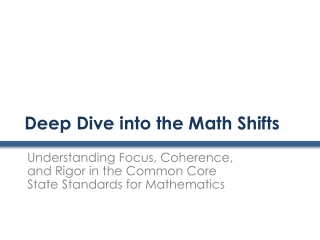 K-2 Common Core in Mathematics