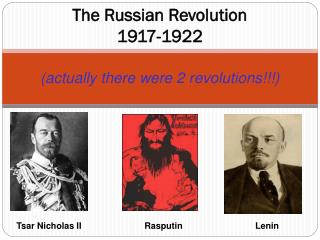 The Russian Revolution 1917-1922