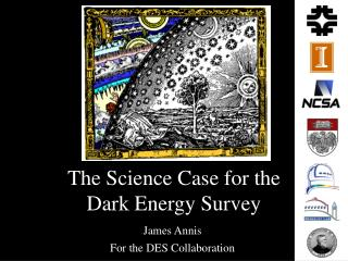 The Science Case for the  Dark Energy Survey