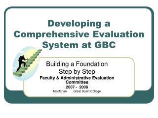 Developing a Comprehensive Evaluation System at GBC