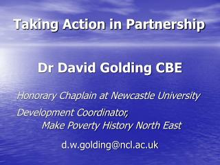 Taking Action in Partnership