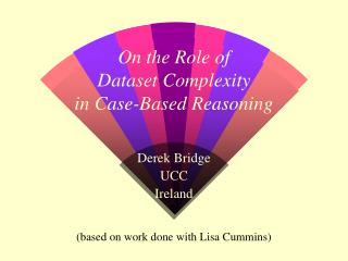 On the Role of Dataset Complexity in Case-Based Reasoning