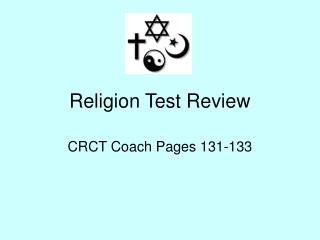 Religion Test Review