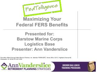 Maximizing Your Federal FERS Benefits