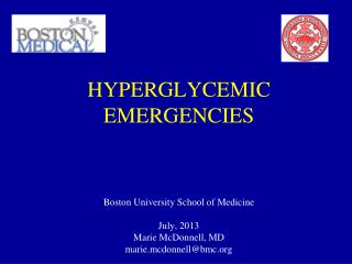 HYPERGLYCEMIC  EMERGENCIES