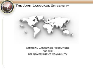 The Joint Language University