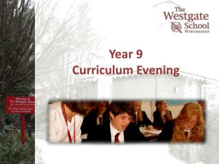 Year 9  Curriculum Evening