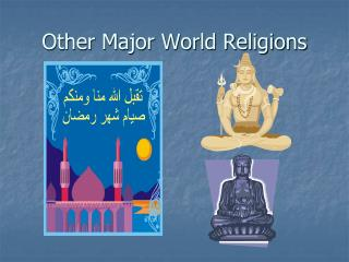 Other Major World Religions