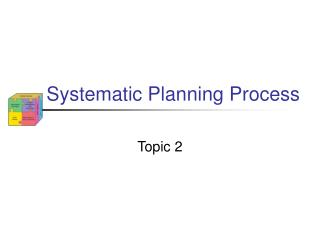 Systematic Planning Process