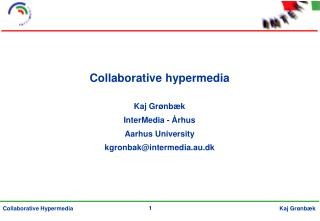 Collaborative hypermedia