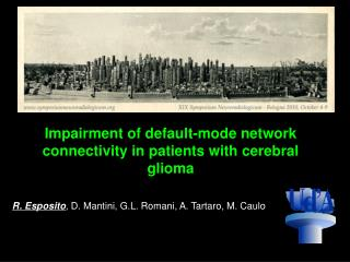 Impairment of default-mode network connectivity in patients with cerebral glioma