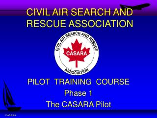 CIVIL AIR SEARCH AND RESCUE ASSOCIATION