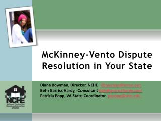 McKinney-Vento Dispute Resolution in Your State
