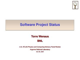 Software Project Status