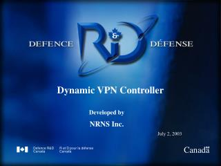 Dynamic VPN Controller