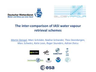The inter-comparison of IASI water vapour retrieval schemes