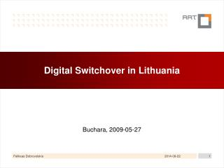 Digital Switchover in Lithuania