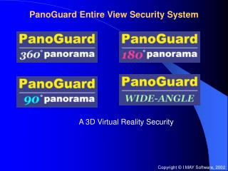 PanoGuard Entire View Security System