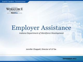 Employer Assistance Indiana Department of Workforce Development