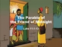 The Parable of  the Friend at Midnight